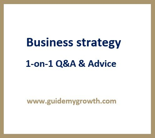 Product - Business strategy | Guide My Growth