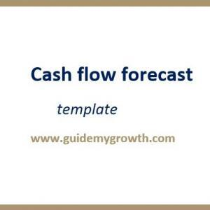 Product - Cash flow forecast | Guide My Growth