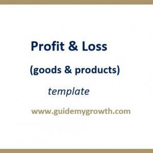 Product - Profit & Loss (goods) | Guide My Growth