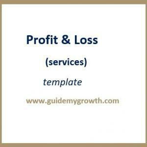 Product - Profit & Loss (services | Guide My Growth
