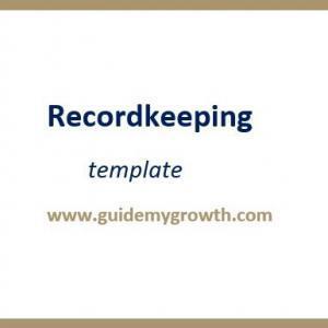 Product - Recordkeeping | Guide My Growth